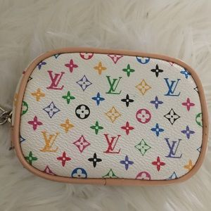 Bags - **Last Chance** Small Multicolored Wristlet Bag